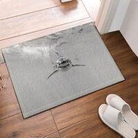 """Scarab Decor Egyptian Flannel Bathroom Rug Non-Slip Floor Indoor Door Mat 16x24/"""""""