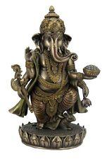 Ganesha Lotusthron Hinduismus Brahman Figur Skulptur bronziert Statue 708-6328