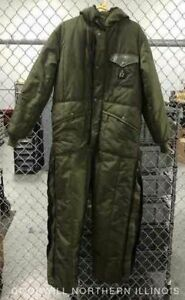 Men's RefrigiWear Winter Green Coveralls, Sz ?