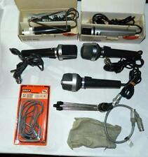 5 Uher Vintage Dynamic Cardioid Microphones M534 M136 M517 M514 M512 Lot & Acces