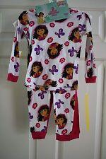 NWT 2T Dora and Friends 4 pc girls pajama set