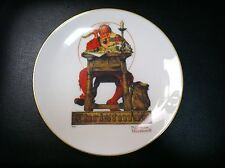 Letter to Santa -Christmas Plate by Norman Rockwell