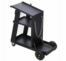 3 Tier Welding Cart Trolley For Mig Welder Inverter Welding Gas Bottle Holder