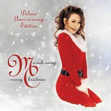 MARIAH CAREY - MERRY CHRISTMAS DELUXE ANNIVERSARY [CD] Sent Sameday*