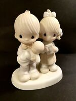Vintage Precious Moments Rejoicing with You Enesco Imports E-4724