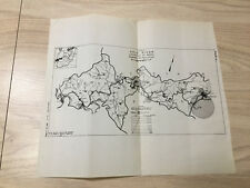 1941 Ohio River Survey Sketch Map Diagram Louisville to Mouth