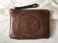 New ListingPatricia Nash Cassini Leather Wristlet Cognac Distressed Leather New