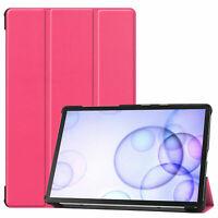 Book-Cover pour Samsung Galaxy Tab S6 SM-T860 SM-T865 Housse Couverture Étui Sac