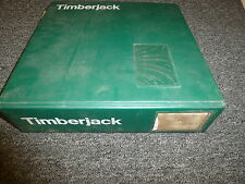 Timberjack 746 & 762 Harvesting Head Shop Service Repair Bulletin Manual Book