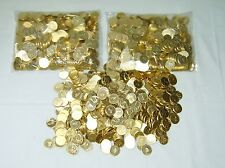 50 NEW GOLDEN PACHISLO SKILL STOP SLOT MACHINE TOKENS  /  COINS FREE SHIPPING