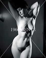 1950s NUDE 8X10 PHOTO BUSTY NICE ASS PINUP BETTIE PAGE FROM ORIGINAL NEG-5