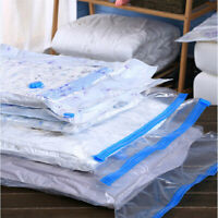 5PCS Vacuum Storage Bag Space Saving Anti Pest Clothes Quilts Organizer Dorm