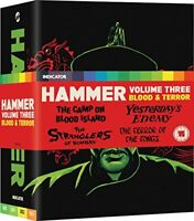 Hammer Volume 3: Blood & Terror [Edizione: Regno Unito] - BluRay DL006910