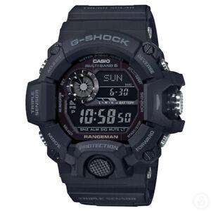 G-Shock Rangeman Solar Powered Black Out Edition Watch GShock GW-9400-1B