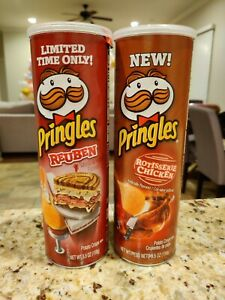 Pringles Limited Edition Cans - Rotisserie Chicken and Reuben