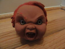 CHUCKY DOLL HEAD 1988 MGM UA VIDEO PROTOTYPE SOLID RUBBER GC RARE VTG HTF!