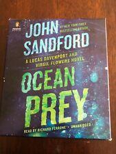 Prey Series:  Ocean Prey by John Sandford 9780593348192  Like new 10 CD's.11 Hrs