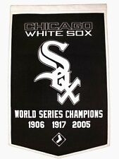 "Chicago White Sox Embroidered Wool Dynasty 24"" x 36"" Banner Pennant"
