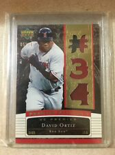 2007 Upper Deck Premier Patches 3 DAVID ORTIZ 05/34 3-color Patch #PP3-DO
