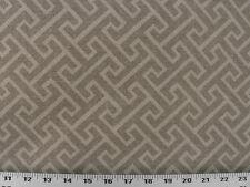 Drapery Upholstery Fabric Brushed Polyester Southwestern Geometric - Tan