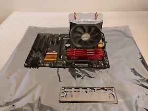 Motherboard, CPU and Ram BUNDLE (i5 4690k + GA-Z97P-D3 +  32GB HyperX DDR3-1866)