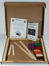 "Harrisville Designs Hardwood Lap Loom B Shed Sticks Shuttle Yarn 14"" x 18"""