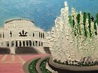 """Original oil painting Minsk without frame  size 9x7"""" (24x18cm)  canvas board"""