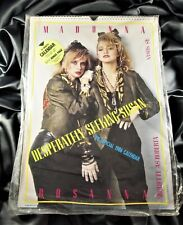 MADONNA OFFICIAL DESPERATELY SEEKING SUSAN CALENDAR US 1986 STILL SEALED Orion
