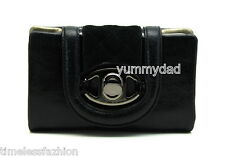 MIMCO HEIRESS LEATHER WALLET IN BLACK BNWT RRP$199