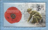 2018 $2 Remembrance Day Armistice C Mint Mark PNC coin stamp set