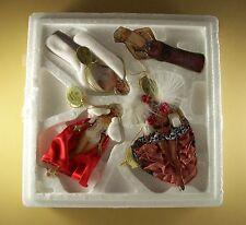 THE GLAMOROUS MISS MARILYN MONROE Porcelain Ornament Set of 4 MIB #4 Fourth