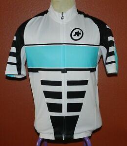 ASSOS of Switzerland Blue Bike Cycling Jersey Men's Cycling Sport Size XL