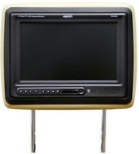"Concept THD-900 9"" LCD Color Tan Headrest Monitor DVD Player Wireless Headphone"
