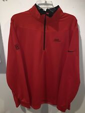 NIKE GOLF Men's Red Dri-Fit PGA Tour Championship 1/4 Zip Pullover  Size XL