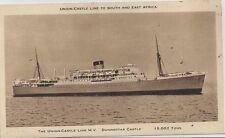 St Helena Ascension 1953 mixed franking ship card