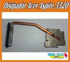 Disipador Acer Aspire 5520 Heatsink FJK-C-27070626 / FJK-C-27072684 AT000000EV0