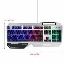 New Multi-Function LED Backlit USB Wired Gaming Keyboard PC Keyboard Illuminated