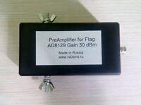 Preamp for Flag/Pennant LOOP HF Antenna HAM RADIO & SWL, 50 Ohm AD8129