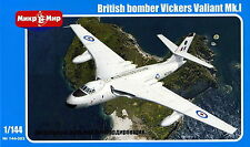Mikro Mir 144-003 British bomber Vickers Valiant Mk.I 1/144 toy model WW iI