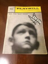 Playbill Belasco Theatre (theater) All The Way Home November 1960