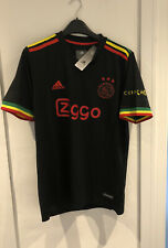 More details for ajax amsterdam 21/22 third jersey bob marley 🟢🟡🔴 three little birds✅ large✅