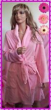 NWT $40  Large b Sleepwear Robe belt Soft Easter Summer Pink knee length pockets