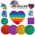 Push Pop Bubble it Fidget Sensory Toy,Special Needs Silicone Stress Relief kids