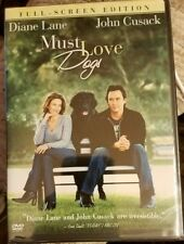 BRAND NEW! Must Love Dogs (DVD, 2005) Diane Lane, John Cusack FREE SHIPPING