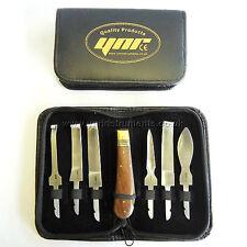 YNR England Farrier Hoof Knives Set/KIT Equine Premium SS Ce