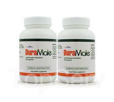 2 DuraMale Last Longer Cure PREMATURE EJACULATION Pills
