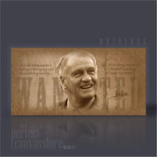 SIR BOBBY ROBSON MOST WANTED VINTAGE COLLECTION ICONIC CANVAS PRINT Art Williams