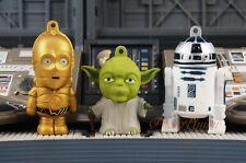 Star Wars Figure Cake Topper Decoration Yoda C-3PO R2-D2 Droid Set K1109_AHJ