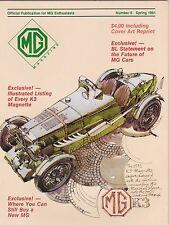 #6 SPRING 1981 MG car magazine (UNREAD)