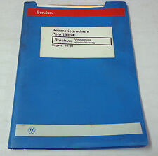 Reparatiebrochure VW Polo 6 N Verwarming aria condizionata dal 1995